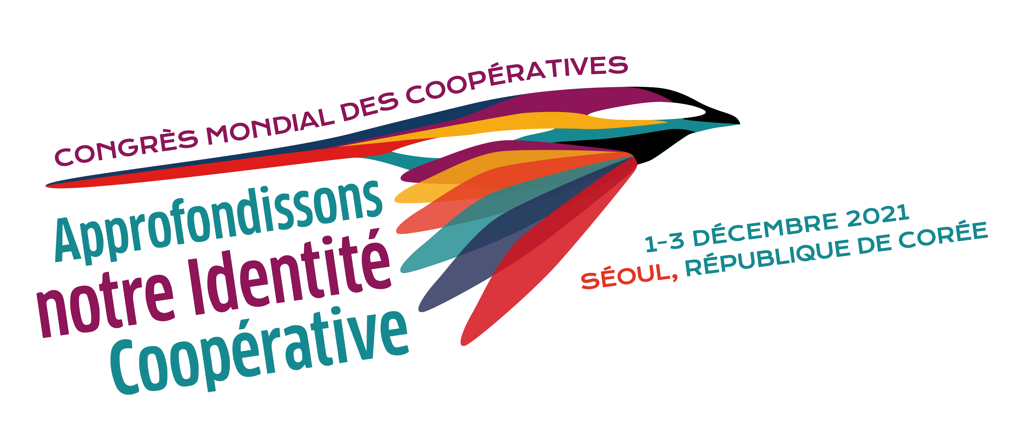The WCC Logo - 'Deepening our cooperative identity'